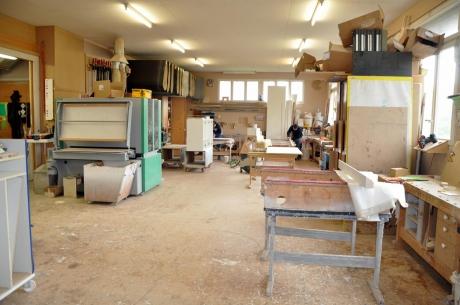 Bild 5 Küffer Schreinerei Produktionsstätte